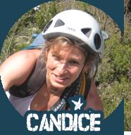 Candice Piéchau, moniteur et guide diplômé de canyoning et escalade dans les pyrénées