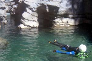 Canyon Miraval contemplation en flottant