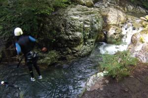 canyon Bious saut 3m